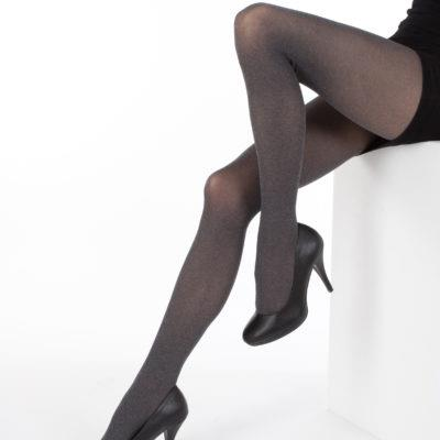 TIGHTS FOR WOMEN MELANGE, 40 DEN